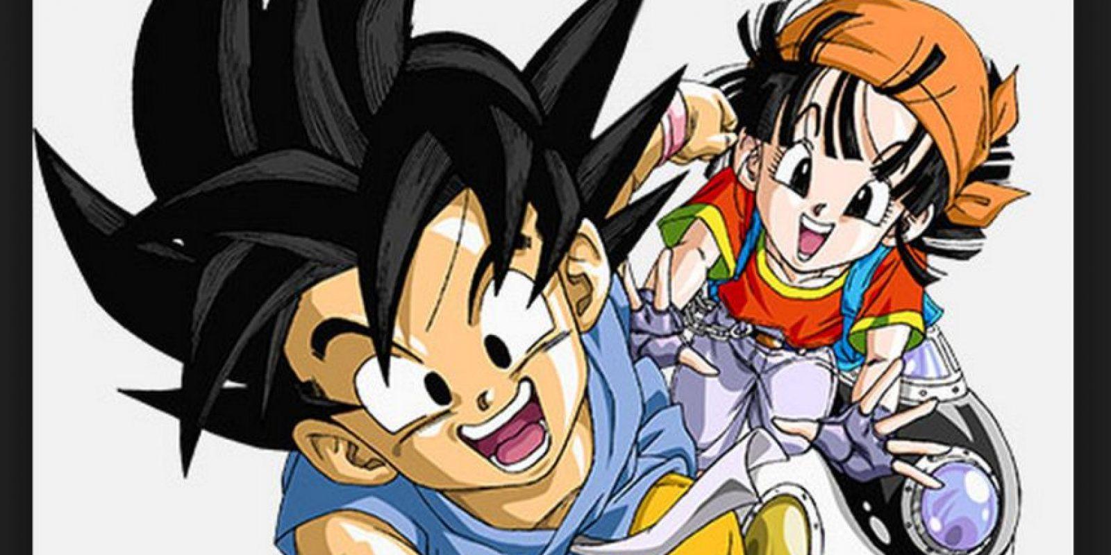 """""""Dragon Ball GT"""" es una especie de versión alterna a """"Dragon Ball"""", con """"Goku"""", """"Pan"""" y """"Trunks"""" como personajes principales Foto:Akira Toriyama/Fuji Television"""