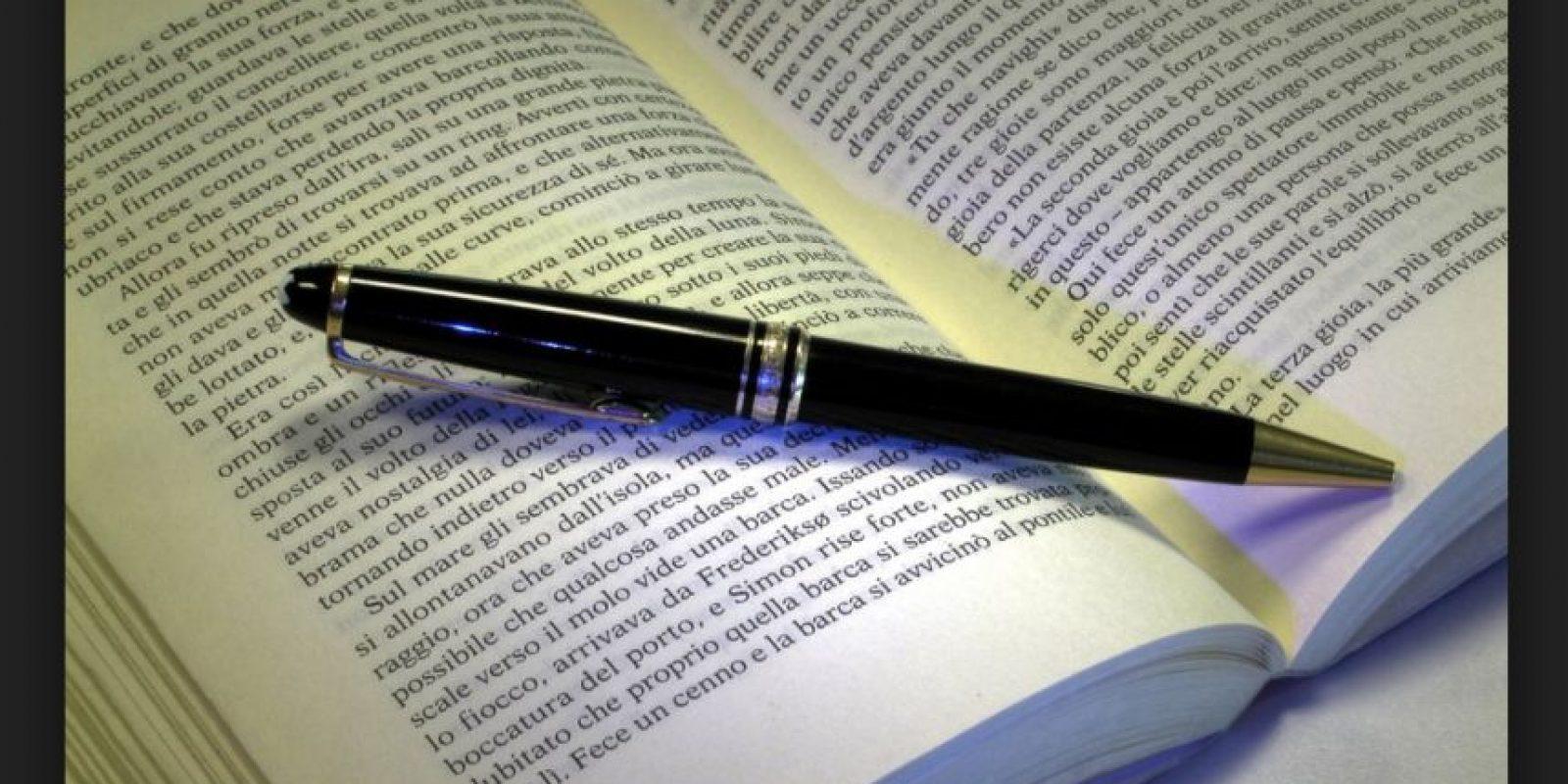 8.- Su léxico aumenta por la gran cantidad de información y libros que han leído Foto:Wikicommons