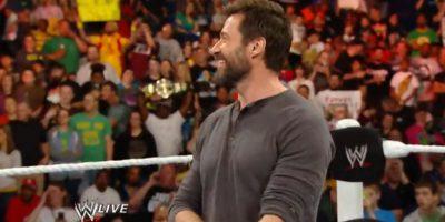 """El intérprete de """"Wolverine"""" enfrentó a Dolph Ziggler, en 2011, y a Damien Sandow, en 2014 Foto:WWE"""