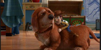 """En la tercera parte, pueden ver a """"Buster"""" ya con algunos años encima Foto:Disney/Pixar"""