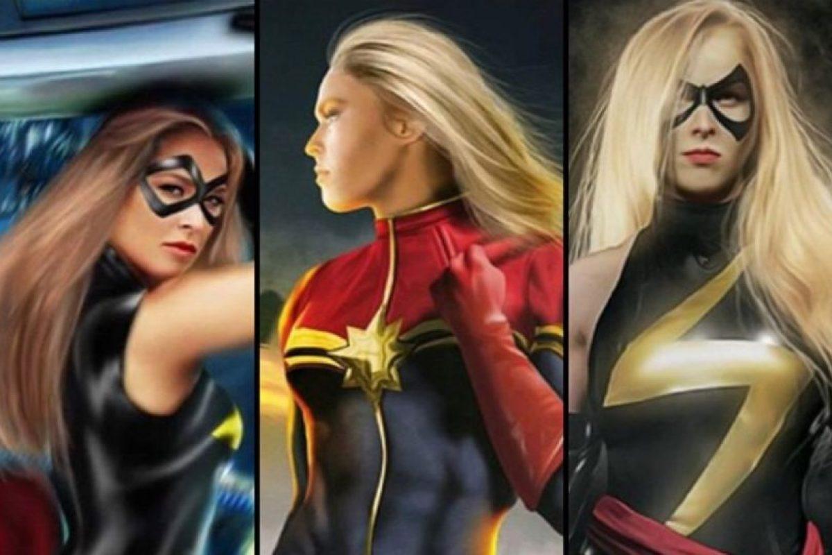 Reveló que le gustaría ser Ms. Marvel Foto:Twitter