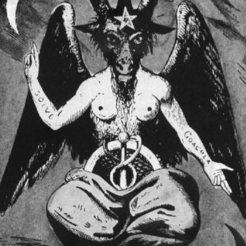 Adora a Baphomet, según el portal. Foto:vía IlluminatiRex