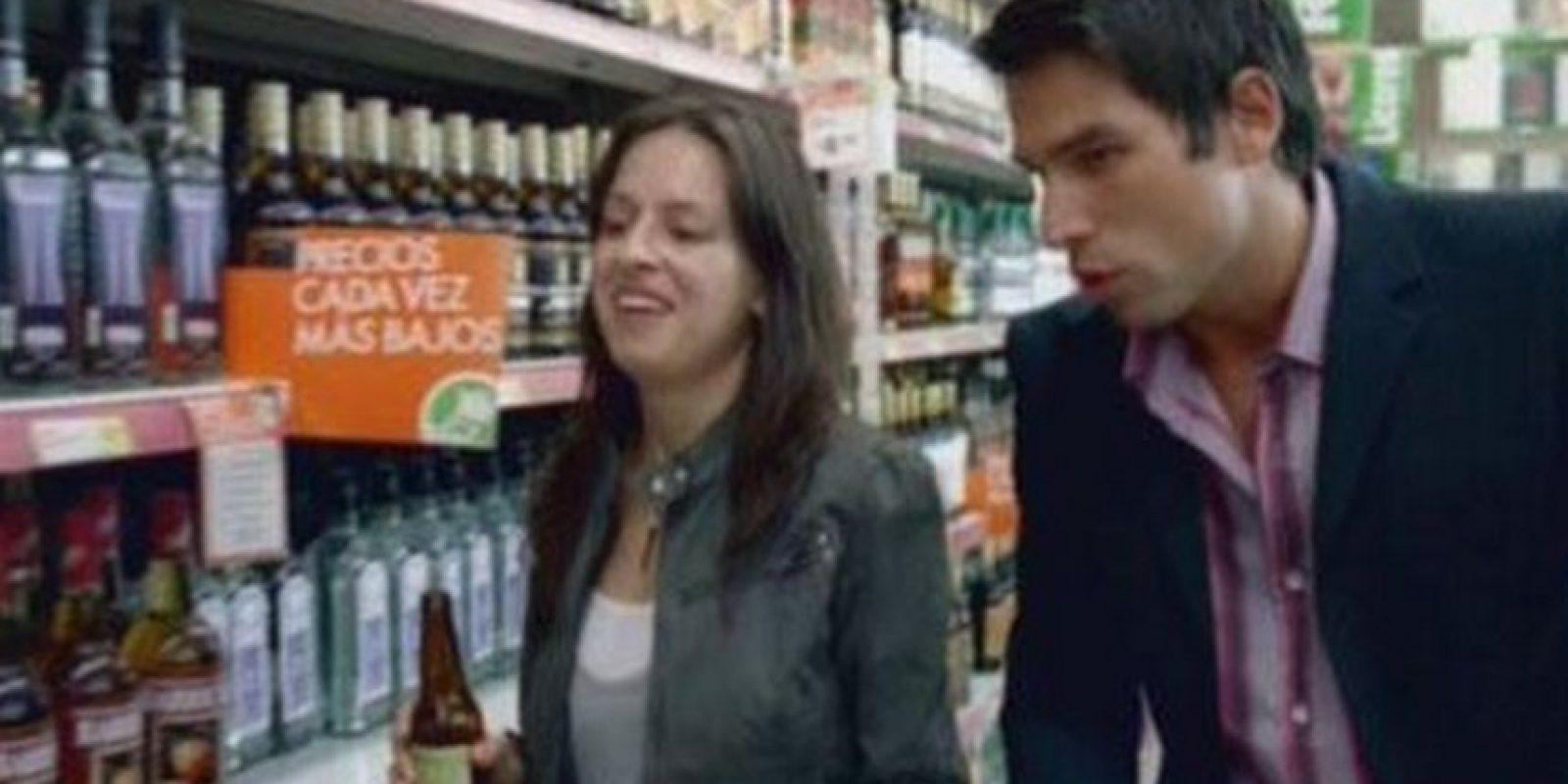 """También incursionó en el cine. """"Así del precipicio"""" en 2006 Foto:Tumbrl"""