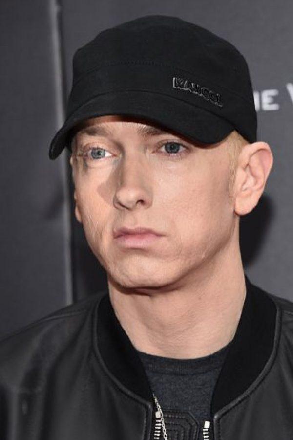 """Supuestamente en """"Goodbye Hollywood"""", Eminem dice que vendió su alma al diablo. Foto:vía Getty Images"""