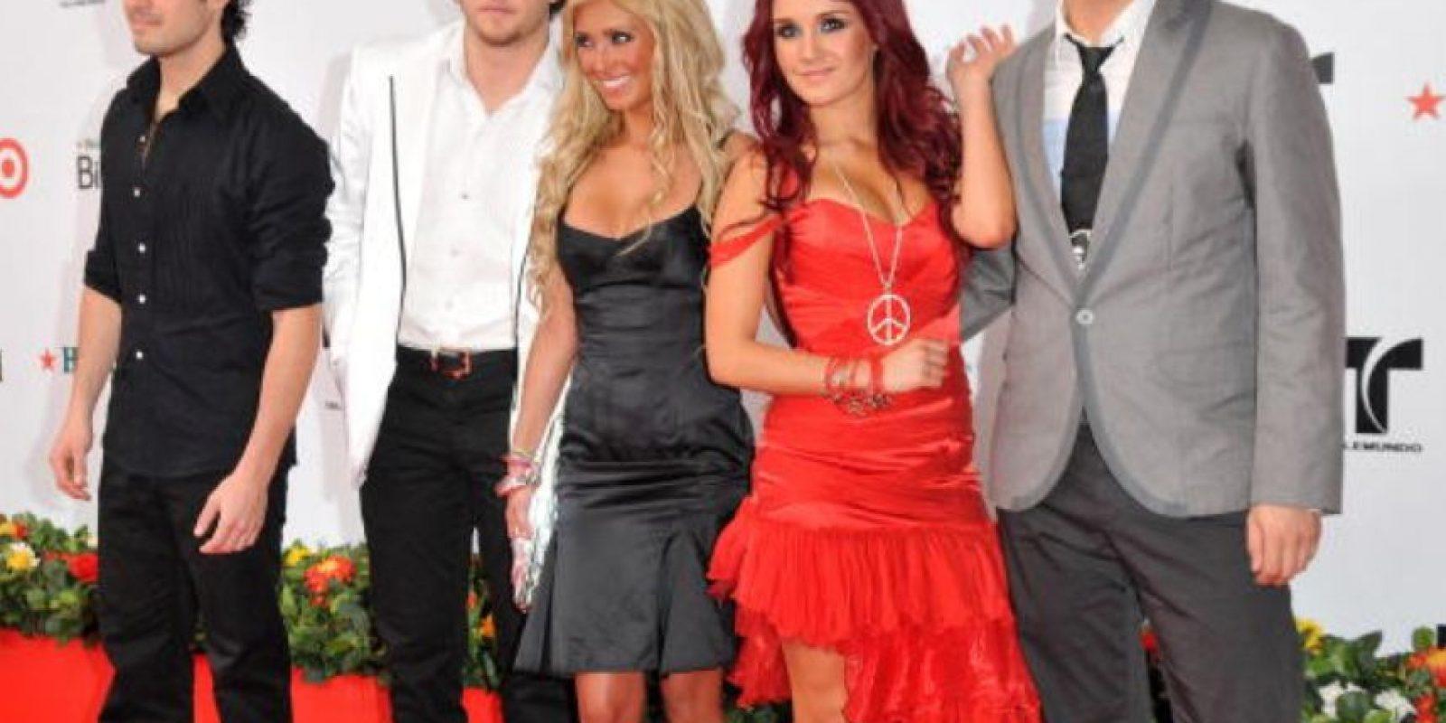 """""""RBD"""" destacaba por su música y por infortunadamente, imponer la moda. Foto:vía Getty Images"""