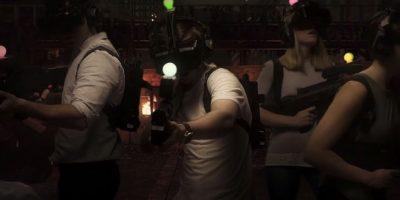 Donde ingresan los jugadores y comienzan el juego con los lentes de realidad virtual Foto:www.zerolatencyvr.com