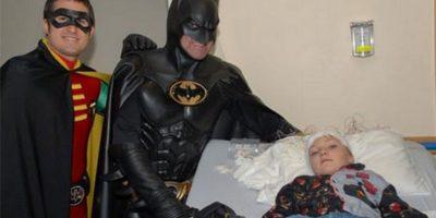 Se hizo famoso debido a que comúnmente se disfrazaba de Batman. Foto:Vía facebook.com/4.BATMAN