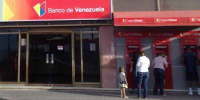 Por su parte el Banco de Venezuela redujo el monto máximo para retirar de cajeros automáticos. Foto:Vía Wikimedia.org