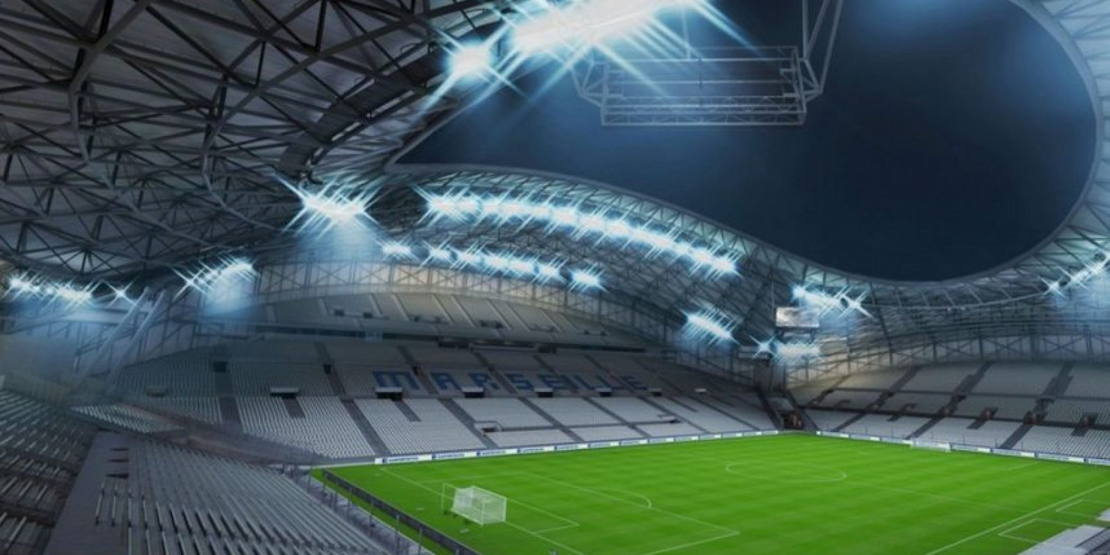 Stade Vélodrome (Olympique de Marsella, Ligue 1) Foto: EA Sports