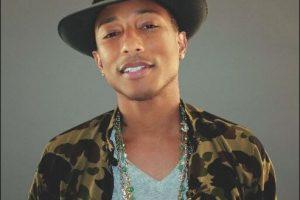 Pharrel Williams es un músico afroamericano que comenzó su carrera con el grupo de rap/rock N.E.R.D. Foto:Twitter
