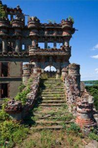 8. Castillo en la Isla de Bannerman. Está abandonado y se encuentra a una hora de Nueva York. Foto:Duskyswondersite
