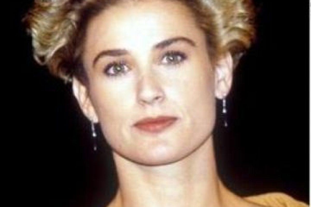 Incluso en su pelo. Foto:vía Getty Images