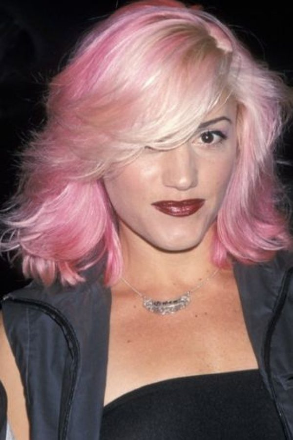 Y el pelo de colores. Foto:vía Getty Images