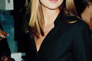 Kate Moss iba de acuerdo con las tendencias. Foto:vía Getty Images