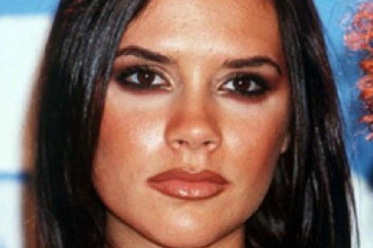 Victoria marcaba mucho sus ojos. Foto:vía Getty Images