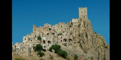 12. Castillo de Craco en Italia Foto:Wikimedia