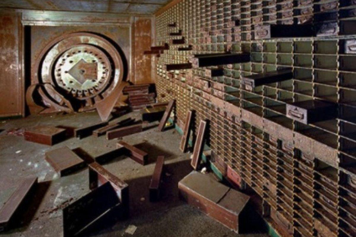 20. Depósito de cajas de seguridad bancarias en Detroit, en Michigan. Foto:Duskyswondersite
