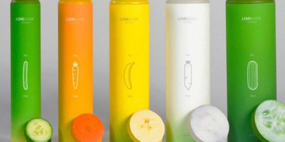 Conozcan los nuevos condones inspirados en vegetales