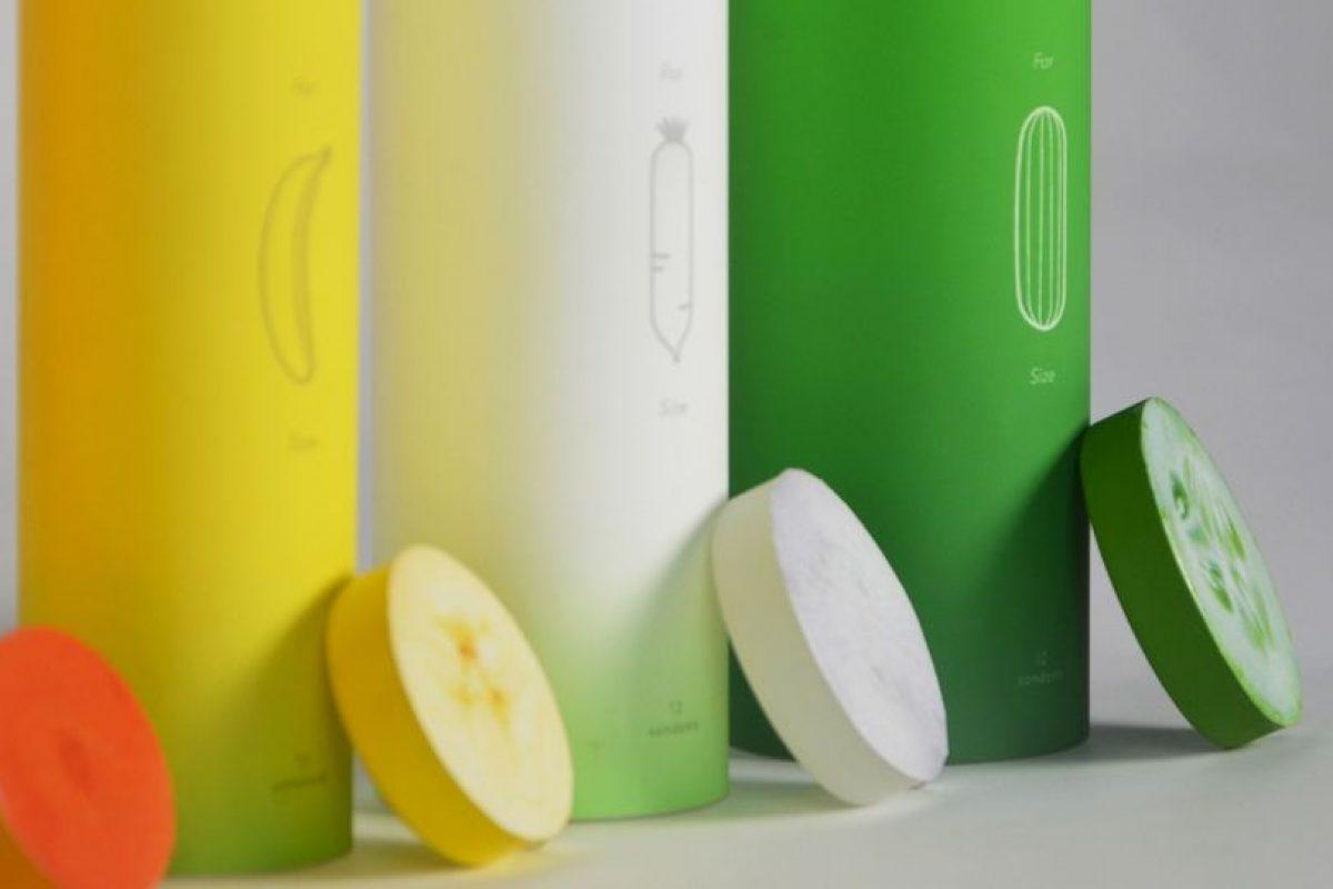 Estudios demuestran que el 60% de los usuarios eligen un tamaño de preservativo incorrecto. Foto:Vía behance