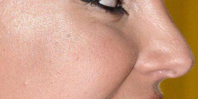 También su dentadura cosmética. Foto:vía Celebrity Closeup/Tumblr