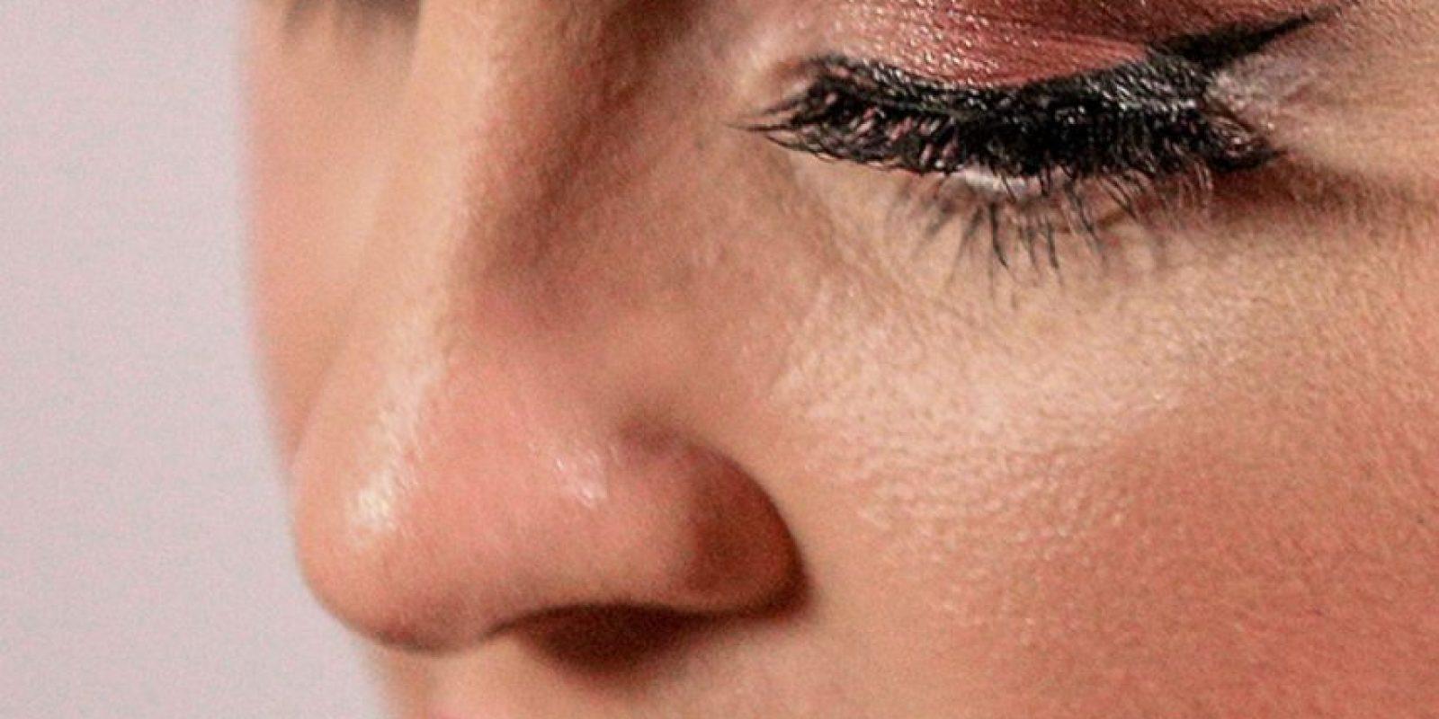 Los poros de Kelly Osbourne. Foto:vía Celebrity Closeup/Tumblr