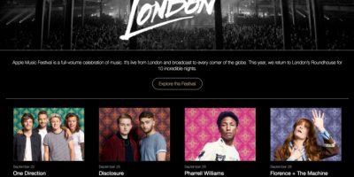 Así como el cambio de look y nombre del evento Foto:Apple