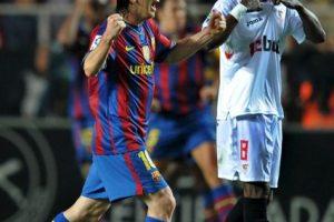 En la Supercopa de España 2010 Foto:Getty Images
