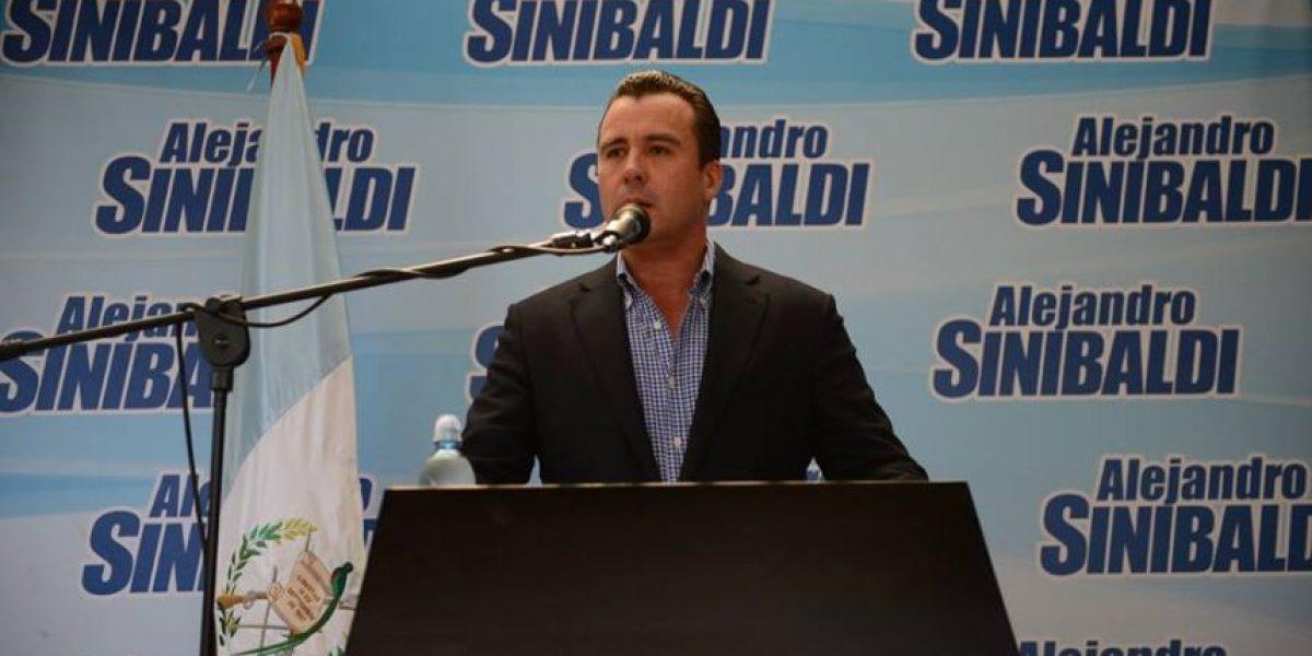 Sinibaldi afirma que no buscará la Presidencia