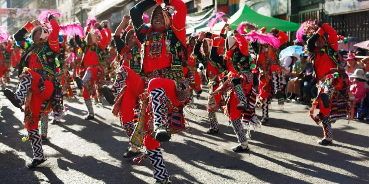 FOTOS. La burguesía aymara de Bolivia dice presente en festividad religiosa