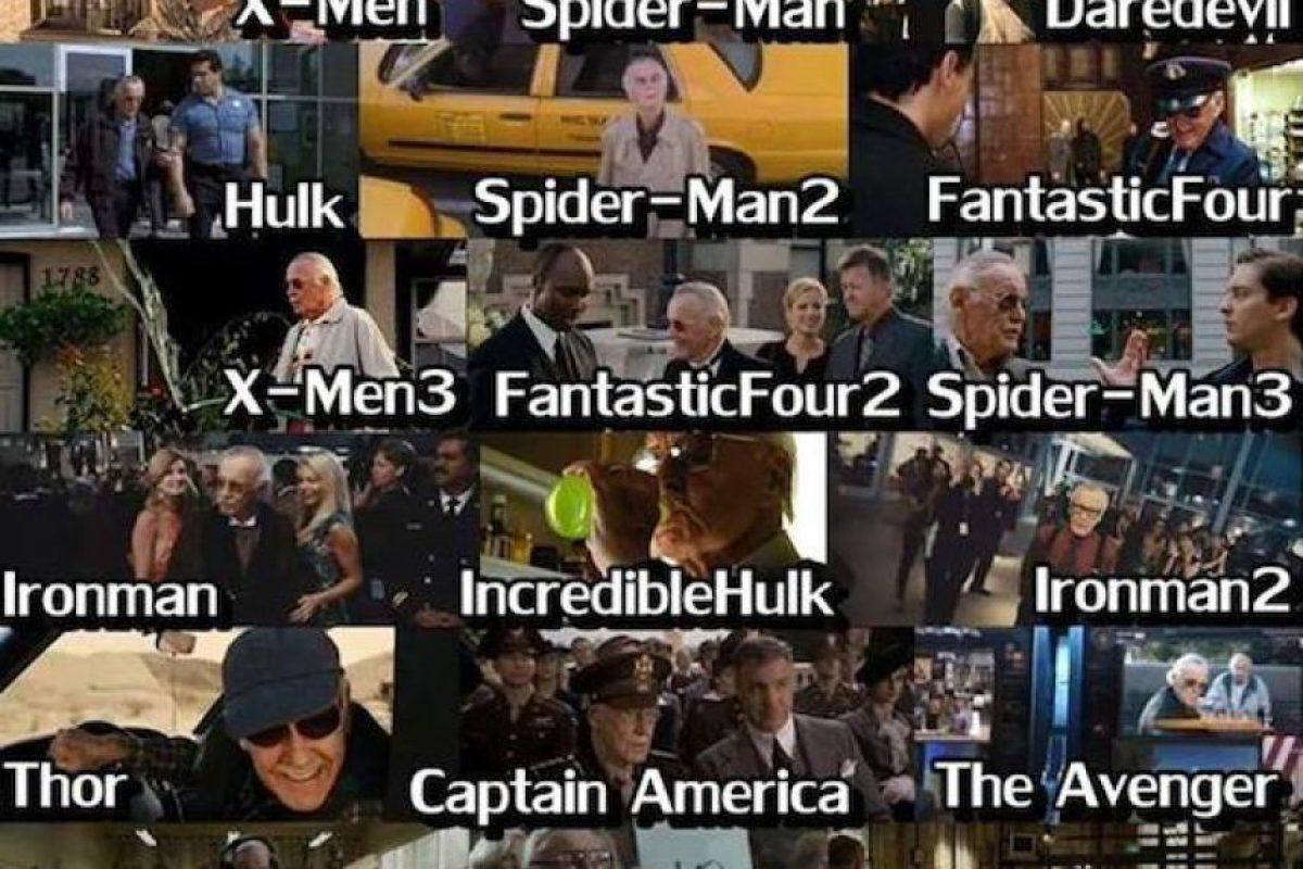 Y en más de 15 filmes más. Foto:vía twitter.com