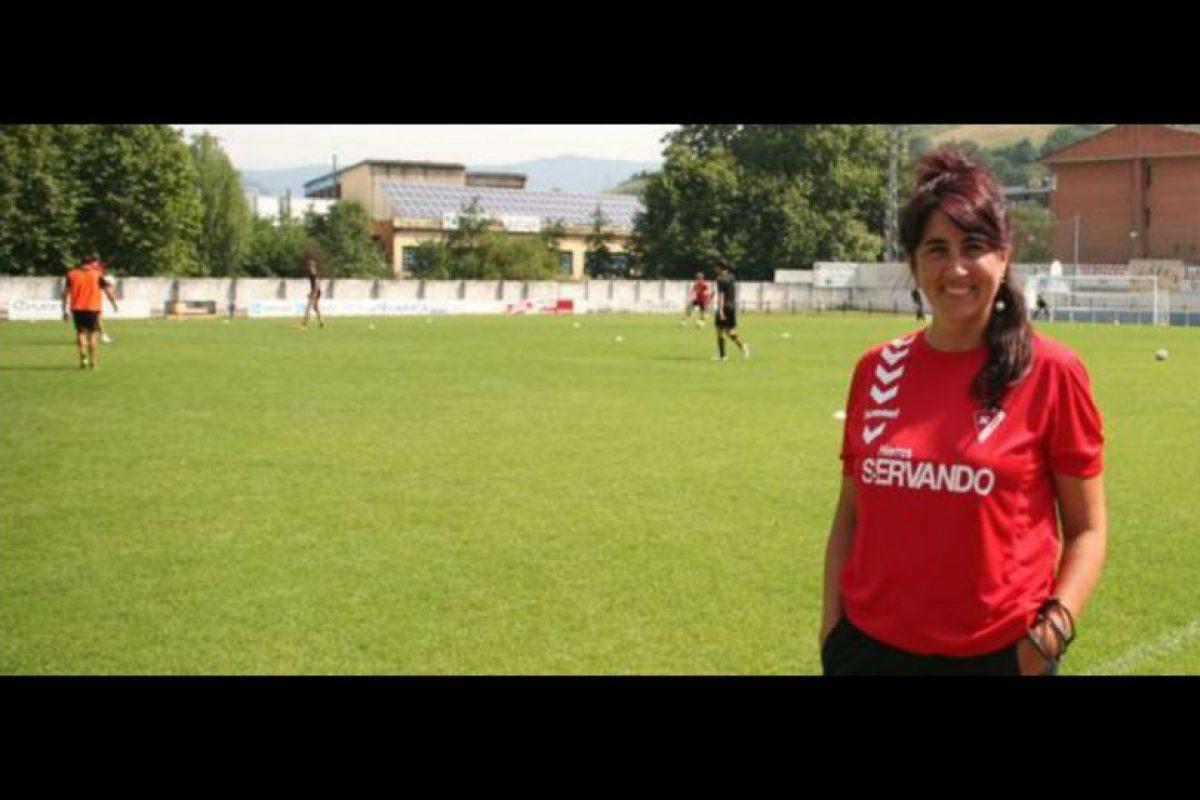 5. Ostaiska Egia, jefa de los servicios médicos del Eibar de España. Foto:Vía twitter.com