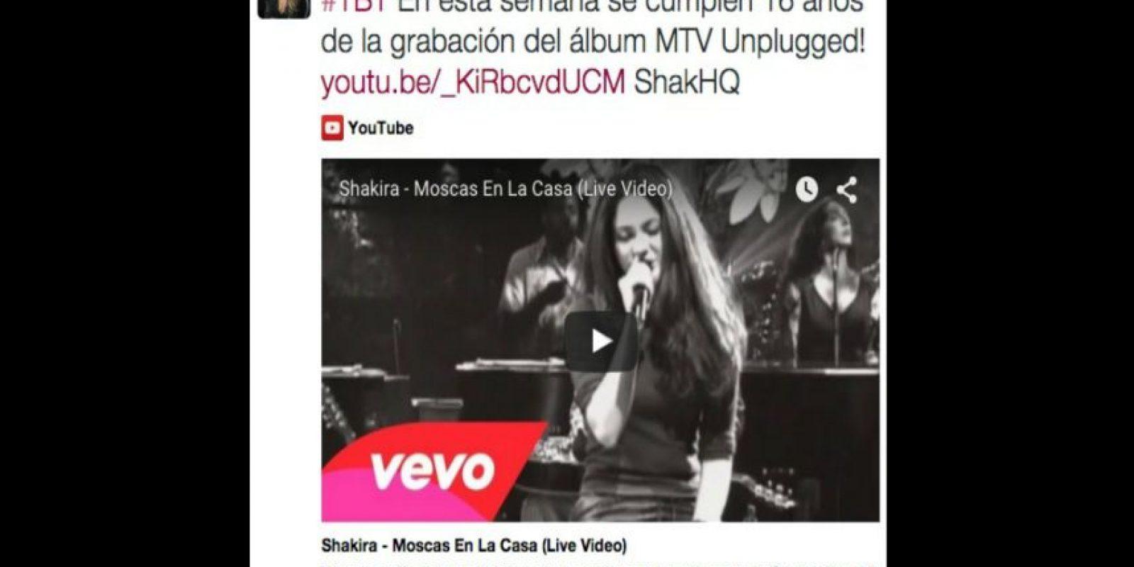 Foto:Twitter/Shakira