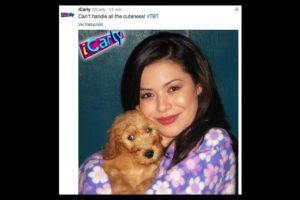 Foto:Twitter/iCarly