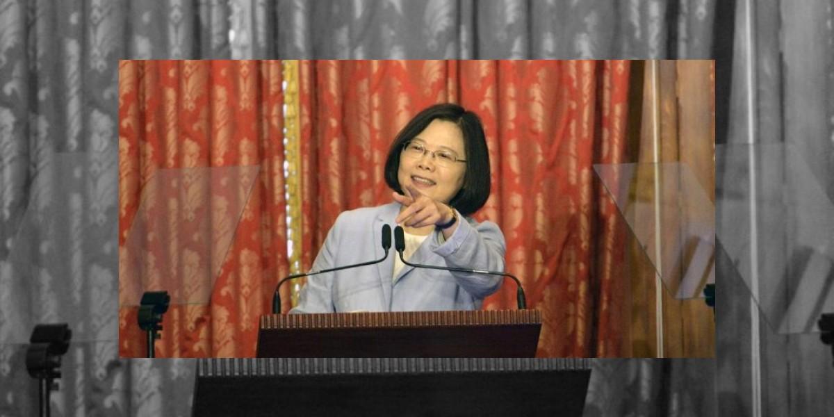 Presidenta de Taiwán llega a Guatemala en medio de tensión diplomática entre EEUU y China