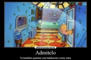 """5.- El cuarto tecnológico de """"Arnold"""" y su techo de cristal Foto:Desmotivaciones.es"""