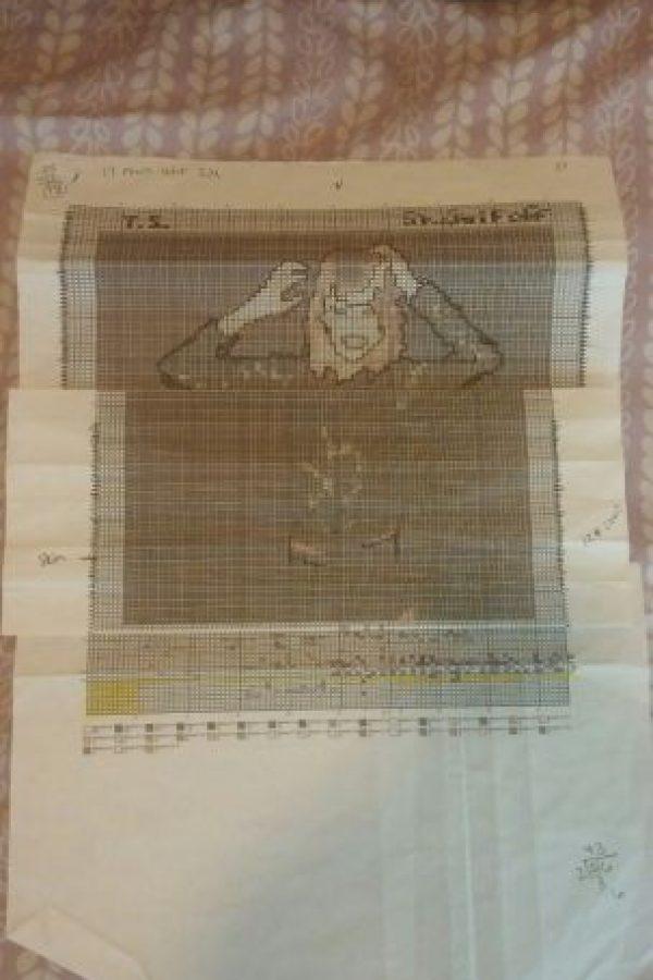 Después seguir el patrón, que Jadda diseñó para hacerlo más legible. Foto:vía jlc-87-22.tumblr.com