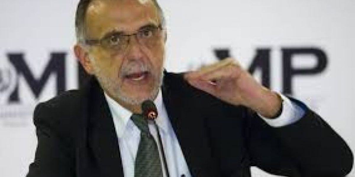 """Iván Velásquez: """"La lucha contra la corrupción debe ser el centro del Estado"""""""