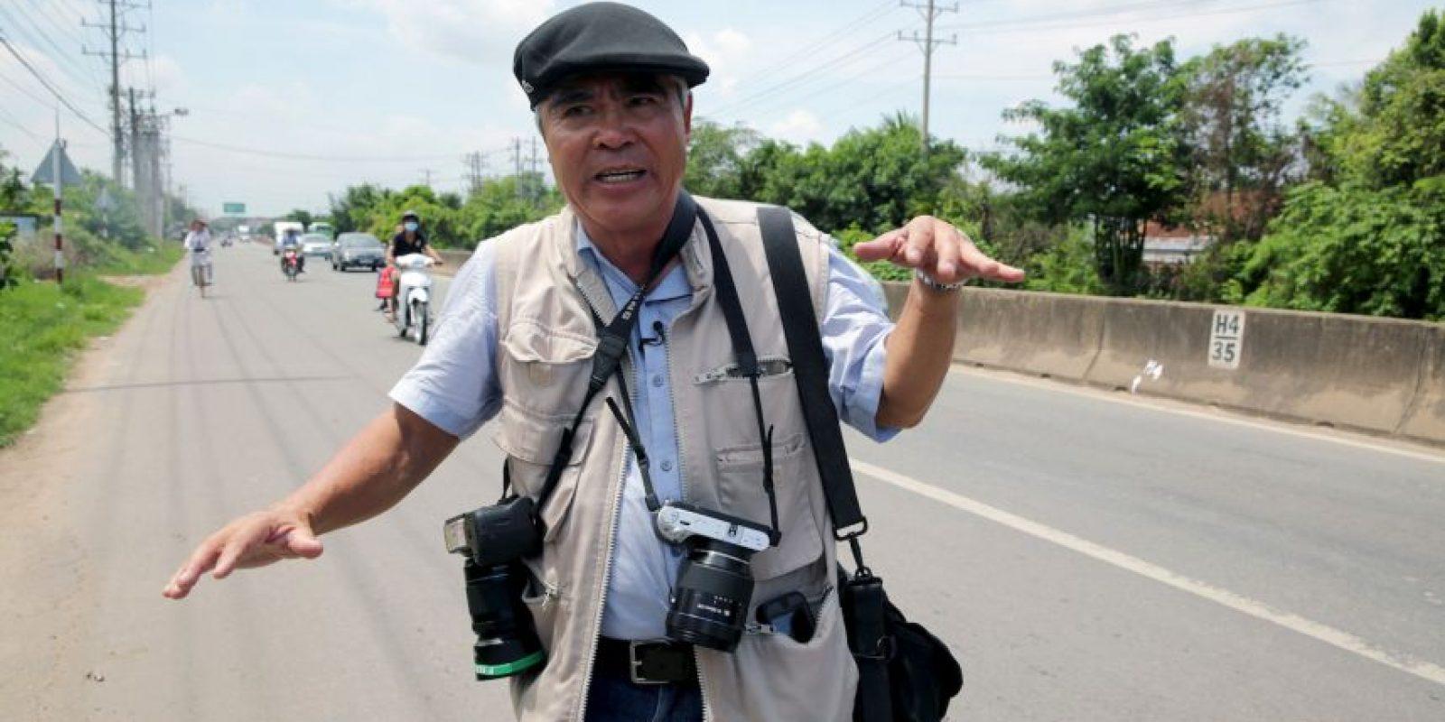 El fotógrafo Nick Ut, regresó al lugar dondé hizo una de las imágenes más famosas de la historia. Foto:AP