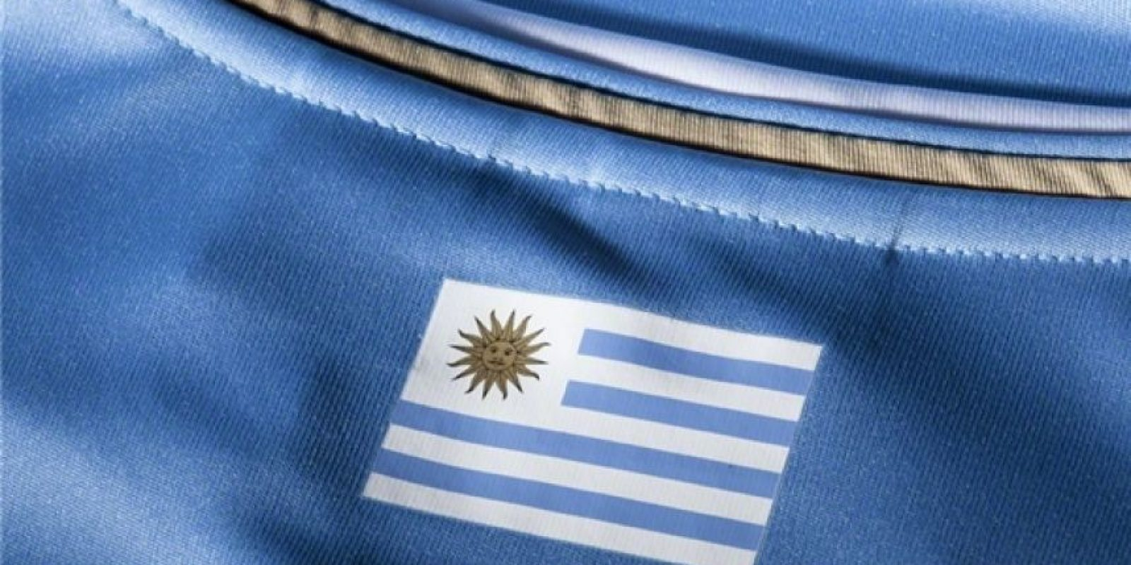 """""""La celeste"""" tampoco estrenará camiseta este año. Llevarán la misma que en Brasil 2014. Foto:Puma"""