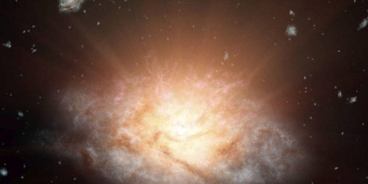 La NASA descubrió la galaxia más luminosa del universo