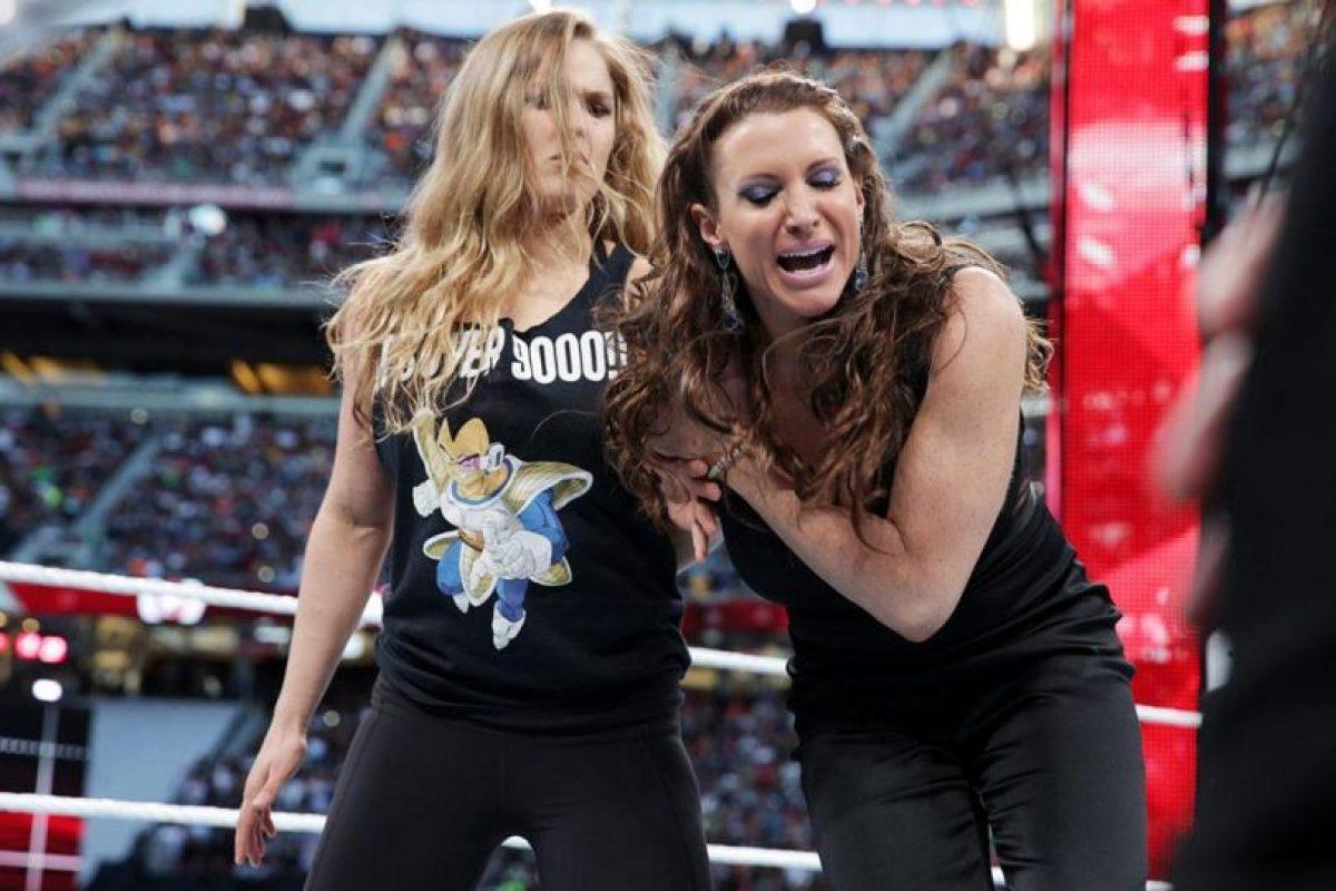 Para enfrentar a Stephanie McMahon Foto:WWE