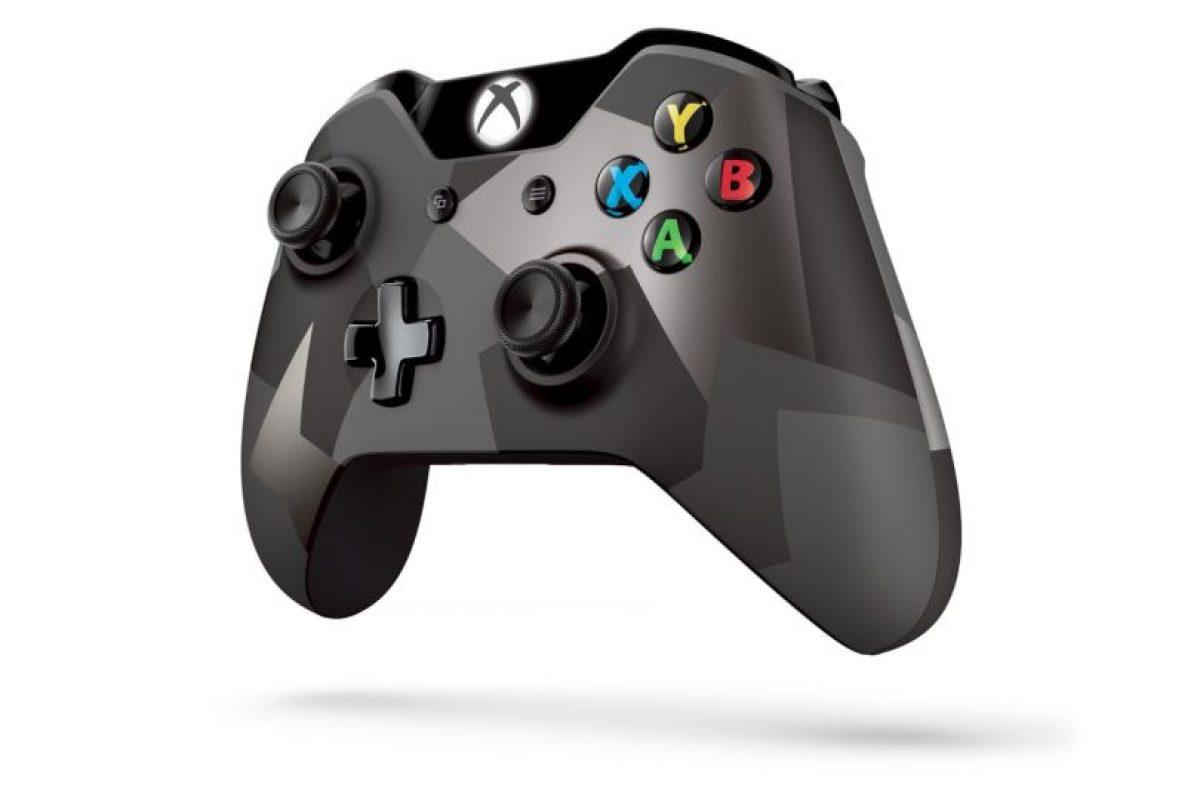 El diseño del control con camuflaje. Foto:Xbox