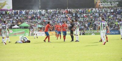 Municipal no le ha dado la vuelta a la página de la final del Apertura 2016 en la que no pudo vencer a Antigua GFC. Foto:Publisport