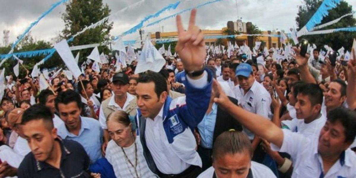 """""""No se recibió ningún financiamiento ilícito"""" dice Jimmy Morales acerca de FCN-Nación"""