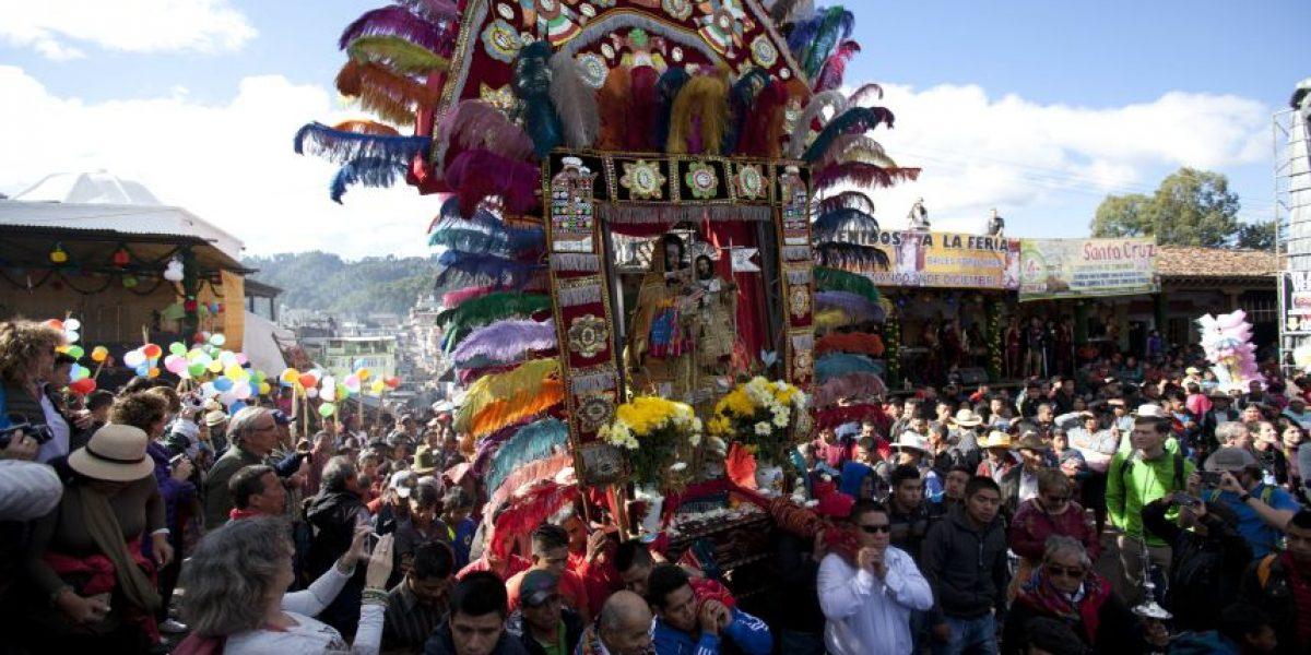 EN IMÁGENES. Colorido festejo a Santo Tomás en Guatemala