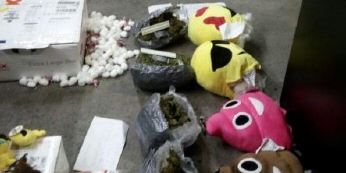 Los peluches de Navidad llevaban marihuana