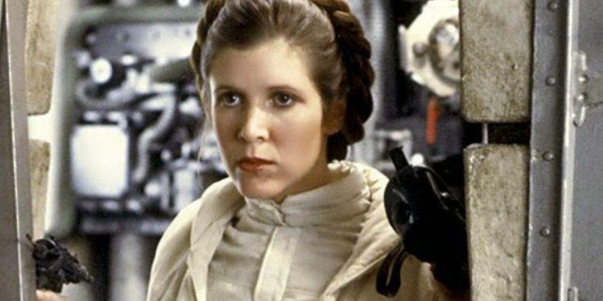La actriz Carrie Fisher sufre un infarto durante un vuelo