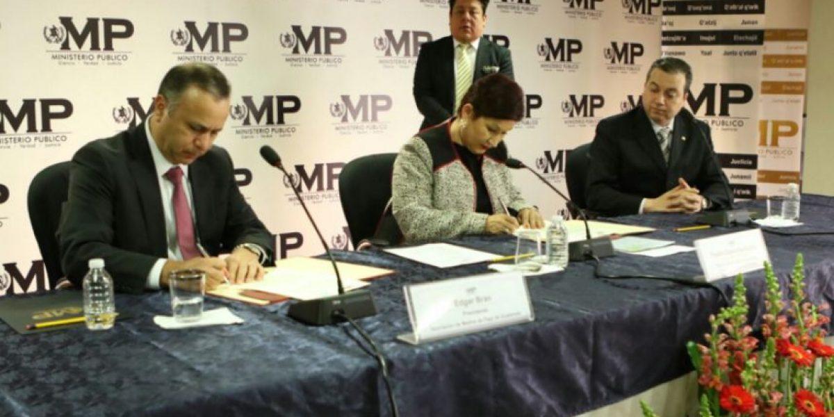 MP firma convenio para mejorar investigación en contra de clonadores de tarjetas de crédito