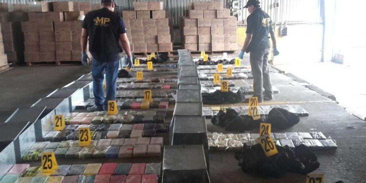 Los 389 paquetes de cocaína incautados en portuaria Santo Tomás provienen de Colombia