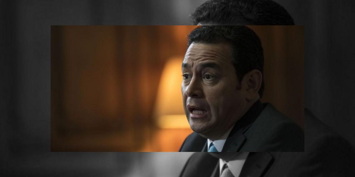 Jimmy Morales apoyará investigaciones de corrupción en contratos de carreteras